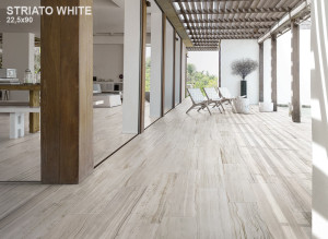 Stone Mix Stirato White