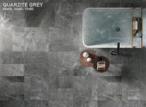 Stone Mix Quarzite Grey