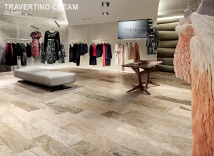 Stone Mix Travertino Cream